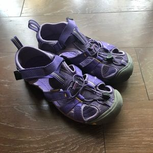 Keen Newport h2 big kid periwinkle Purple